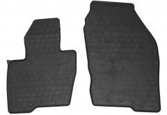 Коврики в салон передние для Ford Edge'16- резиновые, черные (Stingray)