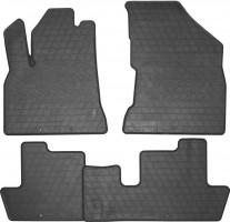 Коврики в салон для Peugeot 5008 '09-16 резиновые, черные (Stingray)