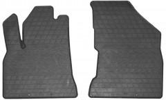 Коврики в салон передние для Peugeot 5008 '09-16 резиновые, черные (Stingray)