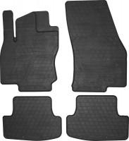 Коврики в салон для Audi Q2 '16- резиновые, черные (Stingray)