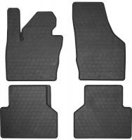 Коврики в салон для Audi Q3 '11- резиновые, черные (Stingray)