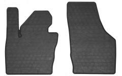 Коврики в салон передние для Audi Q3 '11- резиновые, черные (Stingray)