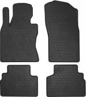 Коврики в салон для Infiniti Q50 '14- резиновые, черные (Stingray)