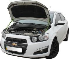 Газовые упоры капота для Chevrolet Aveo '11-, 2 шт.