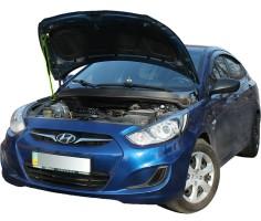 Газовый упор капота для Hyundai Accent (Solaris) '11-17