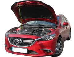 Фото 1 - Газовый упор капота для Mazda 3 '14-