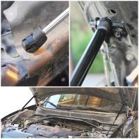 Фото 2 - Газовые упоры капота для Mitsubishi Outlander XL '10-12, 2 шт.