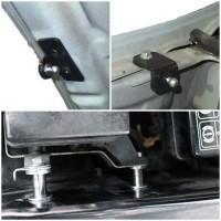 Фото 2 - Газовые упоры капота для  Mitsubishi Pajero Wagon 3 '00-07, 2 шт.