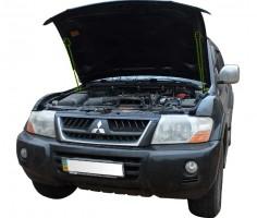 Фото 1 - Газовые упоры капота для  Mitsubishi Pajero Wagon 3 '00-07, 2 шт.