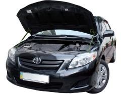 Фото 1 - Газовые упоры капота для Toyota Corolla '07-12, 2 шт.