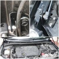 Фото 2 - Газовые упоры капота для Toyota Corolla '07-12, 2 шт.