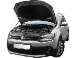 Газовые упоры капота для Volkswagen Polo '09-17 2 шт.