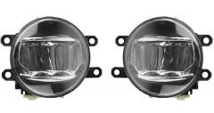 Противотуманные фары для Toyota Auris '06-09 комплект, светодиодные (Dlaa)