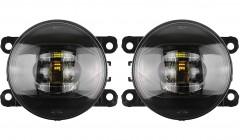 Противотуманные фары для Nissan Navara '05-14 комплект, светодиодные (Dlaa)