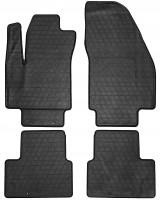 Коврики в салон для Opel Meriva '10- резиновые, черные (Stingray)