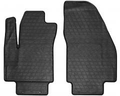 Коврики в салон передние для Opel Meriva '10- резиновые, черные (Stingray)