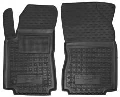 Коврики в салон передние для Citroen C3 '17- резиновые, черные (AVTO-Gumm)