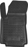 Коврик в салон водительский для Citroen C3 '17- резиновые, черные (AVTO-Gumm)