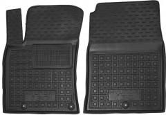 Коврики в салон передние для Hyundai i30 PD '17- резиновые, черные (AVTO-Gumm)