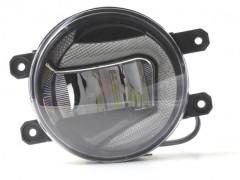 Противотуманные фары для Toyota Corolla '07-12 (LED-DRL) светодиодные с DRL