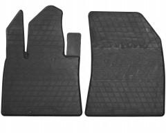 Коврики в салон передние для Citroen C4 '13- Picasso, резиновые (Stingray)