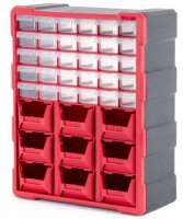 Органайзер пластиковый 39 ячеек BX-4015 (Inertool)