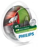 Автомобильные лампочки Philips LongLife EcoVision H1 (2шт.) 12258LLECOS2
