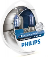 Автомобильные лампочки Philips DiamondVision H11 5000К (2 шт.) 12362DVS2