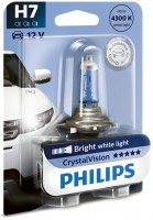 Фото 1 - Автомобильная лампочка Philips CristalVision H7 4300К 12972CVB1