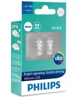 Автомобильные лампочки Philips Vision LED T10 (W5W) 4000К (2 шт.) PS11961ULW4X2