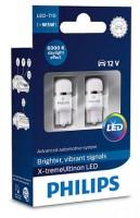 Автомобильные лампочки Philips X-tremeUltinon LED T10 (W5W) 6000К (2 шт.) 127996000KX2