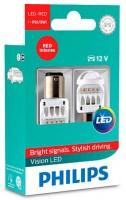 Автомобильные лампочки Philips Vision LED P21/5W (2 шт.) 12836REDX2