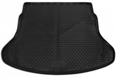 Коврик в багажник для Kia Rio '17- (росс. сборка) седан, полиуретановый (Novline / Element) черный