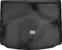 Коврик в багажник для Renault Koleos '17-, резино/пластиковый (NorPlast)