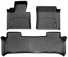 Коврики в салон для Land Rover Range Rover Vogue '02-09 черные, резиновые 3D (WeatherTech)