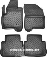 Коврики в салон для Kia Picanto '17-, полиуретановые, черные (Nor-Plast)