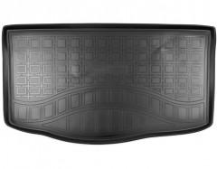 Коврик в багажник для Kia Picanto '17- хетчбэк, верхний, полиуретановый (NorPlast)