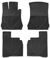Коврики в салон для Mercedes S-Class W221 '06-13 Long, черные, резиновые  (WeatherTech)