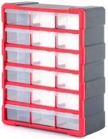 Органайзер пластиковый 18 ячеек BX-4019 (Inertool)