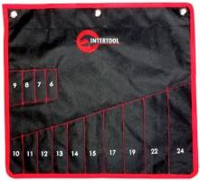 Чехол для гаечных ключей 14 карманов BX-9009 (Intertool)