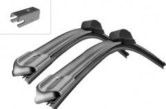 Щётки стеклоочистителя бескаркасные Bosch AeroTwin 650 и 400 мм. спец. крепеж (к-кт) A 156 S
