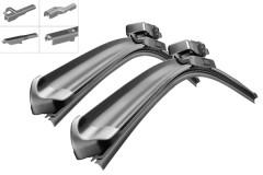 Фото товара 1 - Щётки стеклоочистителя бескаркасные Bosch AeroTwin Multi-Clip 650 и 400 мм. (к-кт) AM 468 S