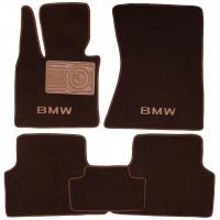 Коврики в салон для BMW X5 E70 '07-13 текстильные, коричневые (Премиум)