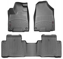 Коврики в салон для Acura MDX '14- черные, резиновые 3D (WeatherTech)