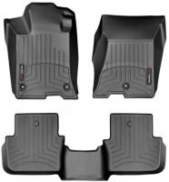 Коврики в салон для Acura TLX '14- черные, резиновые 3D (WeatherTech) (AWD)