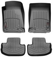 Коврики в салон для Chevrolet Camaro '09- черные, резиновые 3D (WeatherTech)