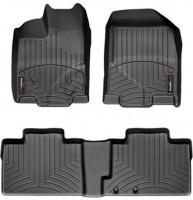 Коврики в салон для Ford Edge '06-16 черные, резиновые 3D (WeatherTech)