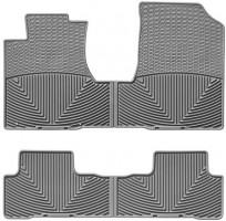 Коврики в салон для Honda CR-V '06-12 серые, резиновые (WeatherTech)