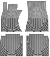 Коврики в салон для Lexus LS '06-17, 4WD,  Long серые, резиновые (WeatherTech)