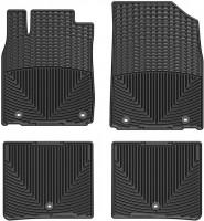 Коврики в салон для Lexus ES '12- черные, резиновые (WeatherTech)